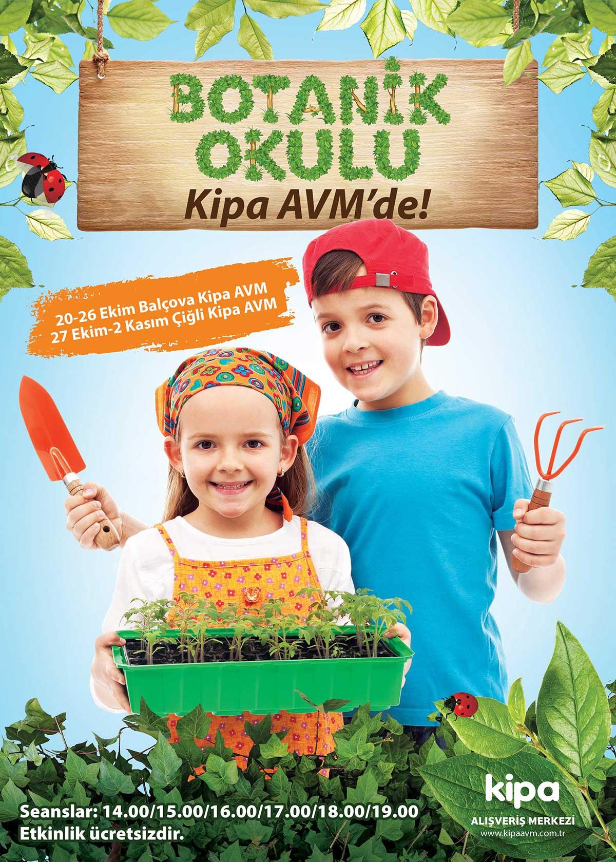 Botanik Okulu Kipa AVM'de!