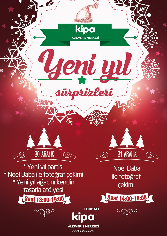Yeni yıl Sürprizleri Torbalı Kipa AVM'de!